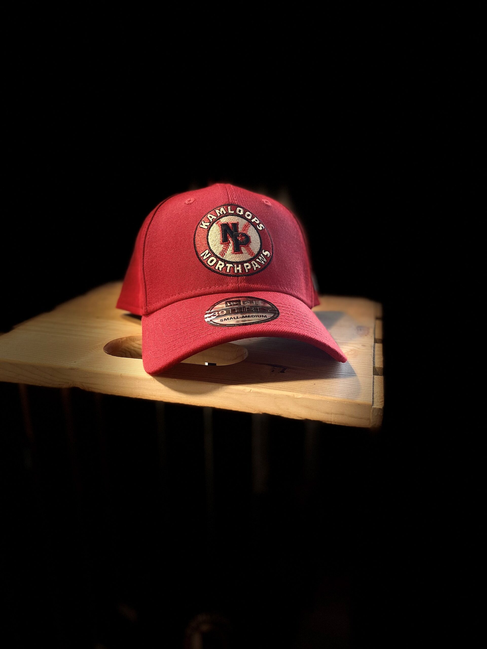NorthPaws New Era 39THIRTY Flexfit in Red